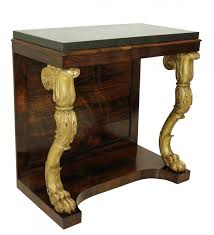 english regency rosewood u0026 gilt console table 1810s for sale