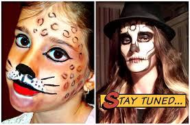 Halloween Kids Makeup Ideas by Halloween Makeup Tutorial Skull Makeup Easy Leopard Makeup By