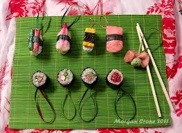 deluxe maki nigiri glitter sushi ornament sler by morgancrone