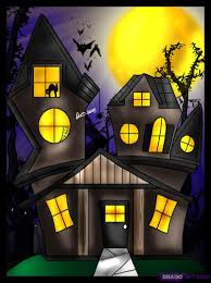 cartoon haunted house images reverse search