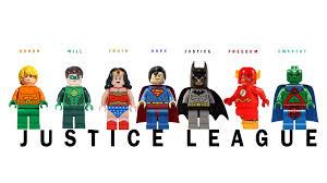 lego movie justice league vs lego version of justice league poster dccomics