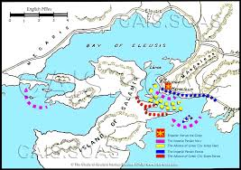 Bosphorus Strait Map The Persian Invasion Of Greece Cais