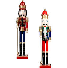 b m is selling a nutcracker decoration for 29 99 and