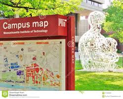 Map Of Cambridge Ma The Massachusetts Institute Of Technology M I T In Cambridge