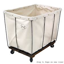 Commercial Laundry Hamper by Canvas Replacement Liners Steele Canvas Basket Corp