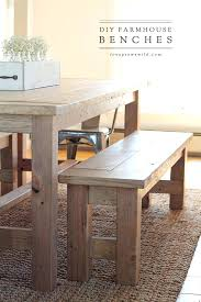 Farmhouse Kitchen Table Sets by Farmhouse Table With Benches U2013 Amarillobrewing Co
