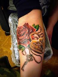 25 awesome lock and key tattoo designs and ideas for you instaloverz