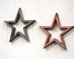 metal star home decor barn star etsy