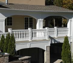 Fiberglass Handrail New Jersey Vinyl Railing Installation Nj Fiberglass Decks Llc
