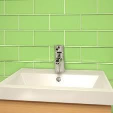 Green Subway Tile Kitchen Backsplash - house compact light green subway tile backsplash glass green