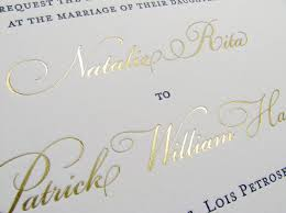 wedding invitations printing gold metallic luxury wedding invitations foil st digby