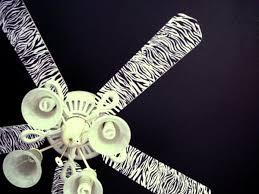 zebra print ceiling fan zebra print ceiling fan maybe to do pinterest zebra print