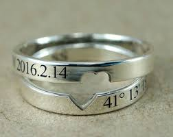 promise rings uk his and promise rings etsy