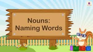naming words nouns for kids english grammar grade 2 periwinkle