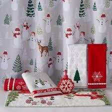 Snowman Shower Curtain Target by Kohls Beach Themed Shower Curtains Lush Decor Ruffle Fabric