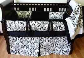 Black And White Crib Bedding Set Alexandra Black White Crib Set 1332 289 00 Modpeapod We