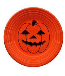 Vintage Halloween Plates by Fiesta Dillards Com