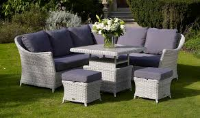 bramblecrest garden furniture monterey modular sofa with mini