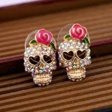 sweet and sassy earrings free sweet and sassy sugar skull earrings new earrings