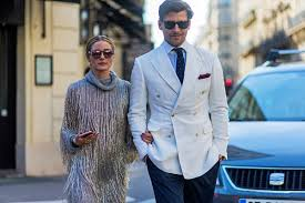 Olivia Palermo Home Decor by Johannes Huebl On His And Olivia Palermo U0027s Couple Style Instyle Com