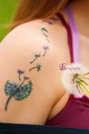 80 blown away dandelion tattoo ideas for romantic women lucky bella