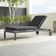 Adirondack Chaise Lounge Outdoor Patio Lounge Furniture Crate And Barrel