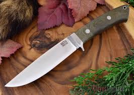 bark river kitchen knives bark river knives wilderness explorer cpm cru wear green