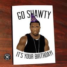 50 Cent Birthday Meme - drake birthday card funny birthday card from inlivingcolorstudi