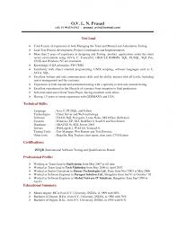 Server Resume Examples by Sql Skills In Resume Free Resume Example And Writing Download