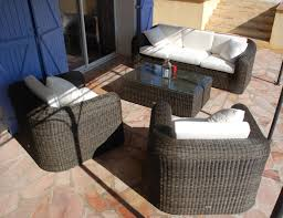 canape de jardin en resine tressee pas cher luxe salon de jardin pas cher resine tressée sabakunohana