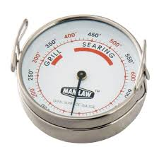 Backyard Grill Thermometer by Man Law Grill Surface Thermometer Man T387bbq The Home Depot