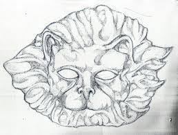 venetian lion mask blinchiki