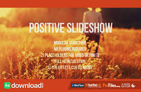positive slideshow videohive free download free after
