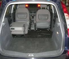 ford focus c max boot space ford focus c max tdci zetec 1 6 5dr mpv rica