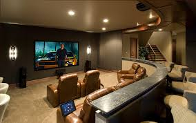Movie Drapes Movie Room Ideas Home Theater Traditional With Recessed Lighting