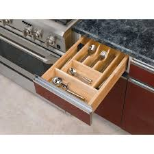 Cabinet Drawer Inserts Rev A Shelf 2 38 In H X 14 62 In W X 22 In D Small Wood Cutlery