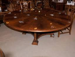 expandable round dining room tables furniture vintage expandable round dining table adding more