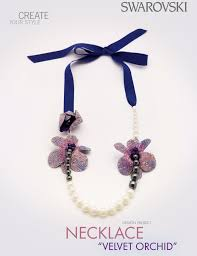 swarovski crystal necklace design images Here 39 s your new swarovski crystal necklace design that puts the png