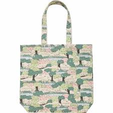 rilakkuma tree color canvas tote bag by san x from