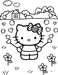 spring flowers printable coloring pages day within omeletta me