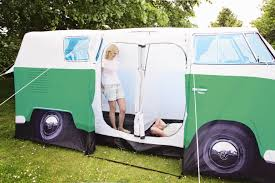 vw minivan camper vw peppermint green camper van tent