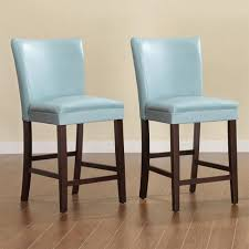 amazing teal leather bar stools image is loading pertaining to