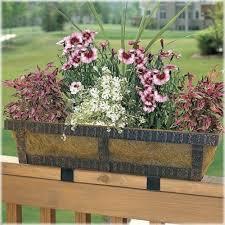 32 best deck rail planters images on pinterest window planter