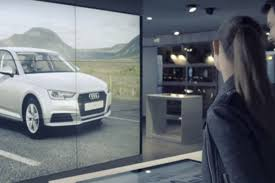 audi digital showroom audi inaugure à paris un showroom digital