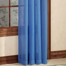 Sheer Grommet Curtains Tropical Breeze Semi Sheer Grommet Curtain Panels