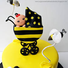 honey bee decorations for your home bumble bee baby shower cake cakecentral com