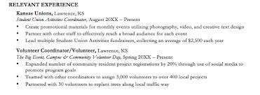 Resume Volunteer Experience Examples by Resume Volunteer Work Volunteer Work Resume Samples Visualcv