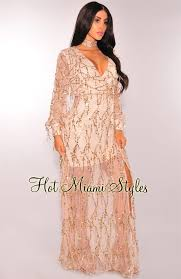 sleeve maxi dress flowing sequins sleeves maxi dress