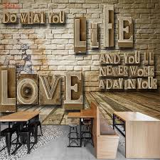wood board wall letters on brick wood board 3d room wallpaper for walls 3d