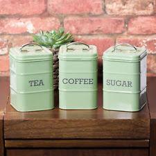 vintage retro kitchen canisters enamel vintage retro kitchen canisters jars ebay